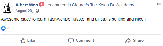 Capture, Sterner's Tae Kwon Do Academy