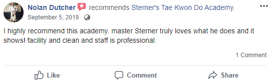 Adult2, Sterner's Tae Kwon Do Academy