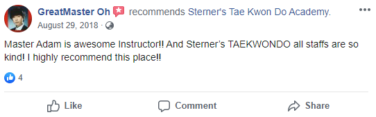 Adult4, Sterner's Tae Kwon Do Academy